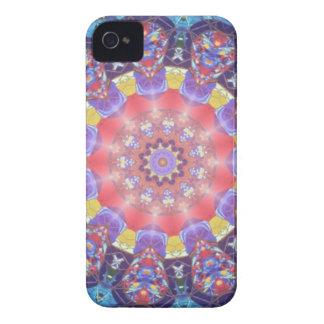 Vintage glass mandala iphone cases Case-Mate iPhone 4 case