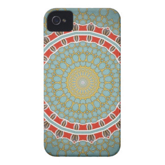 Vintage glass mandala iphone cases iPhone 4 cover
