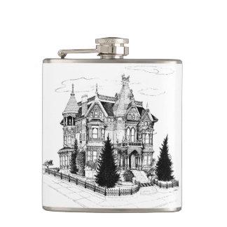 Vintage Gothic Home 1885 Hip Flask