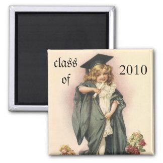Vintage Graduation, Congratulations Graduates! Magnet