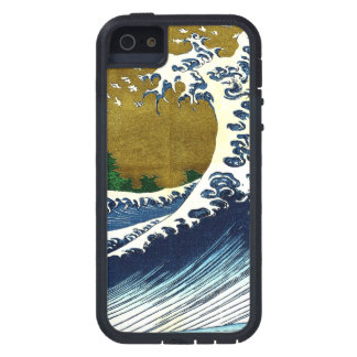 Vintage Great Wave Painting From 100 Views Of Fuji Tough Xtreme iPhone 5 Case