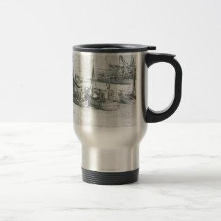 Vintage Greenland, Arctic Fishing Fleet Travel Mug