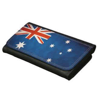 Vintage Grunge Australia Flag Wallet