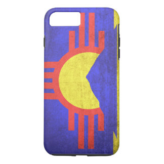 Vintage Grunge Flag of Roswell New Mexico iPhone 8 Plus/7 Plus Case