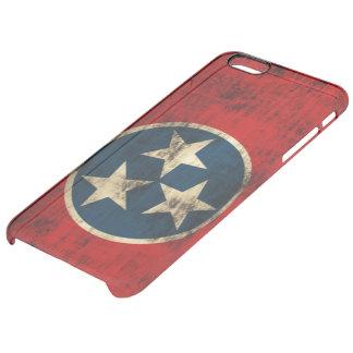 Vintage Grunge Flag of Tennessee