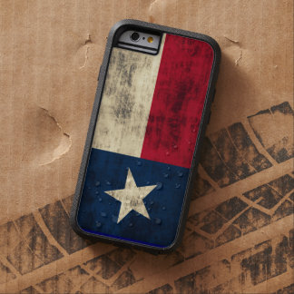 Vintage Grunge Flag of Texas Tough Xtreme iPhone 6 Case
