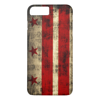 Vintage Grunge Flag of Washington D.C. iPhone 8 Plus/7 Plus Case