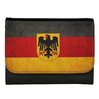 Vintage Grunge Germany Flag Deutschland Flag Wallet