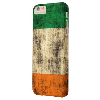 Vintage Grunge Irish Flag Barely There iPhone 6 Plus Case