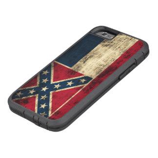 Vintage Grunge Mississippi Flag Tough Xtreme iPhone 6 Case