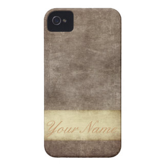 Vintage Grunge Personalized Blackberry Bold Cover