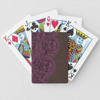 Vintage Grunge Roses Card Decks