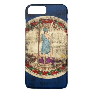 Vintage Grunge State Flag of Virginia iPhone 7 Plus Case