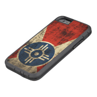 Vintage Grunge Wichita Kansas Flag Tough Xtreme iPhone 6 Case