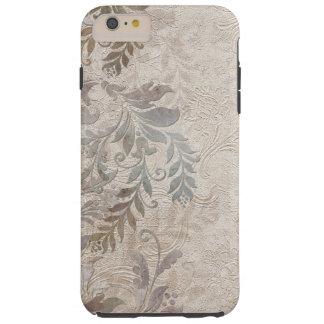 Vintage Grungy Embossed Foliage Tough iPhone 6 Plus Case
