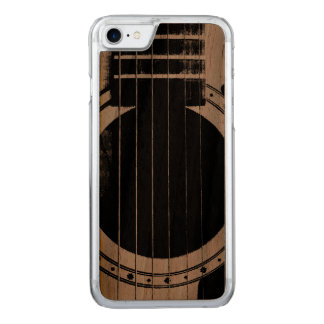 Vintage Guitar Carved iPhone 7 Case