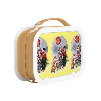Vintage Halloween Lunch Boxes
