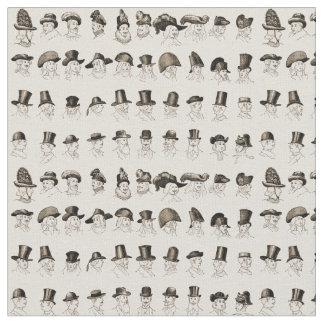 Vintage Hats Fabric