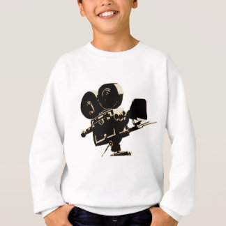 Vintage Hollywood Camera Sweatshirt
