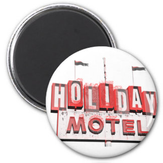 Vintage Hollywood Motel Sign Magnet