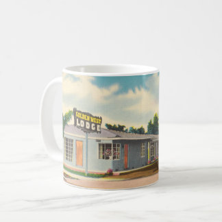 Vintage Hotel, Golden West Lodge Motel Coffee Mug