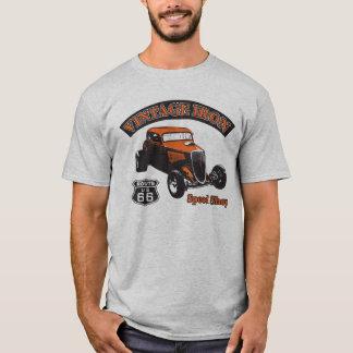Vintage Hotrod from Vintage Iron Teeshirts T-Shirt