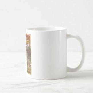 vintage hunting sign coffee mug