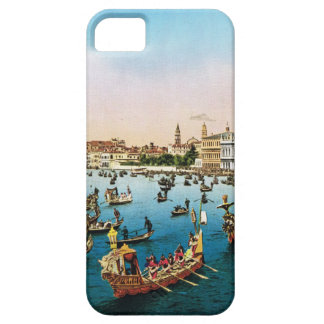 Vintage image, Venice regatta 1910 iPhone 5 Cases