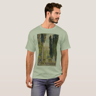 Vintage Italian travel ad Tivoli Lazio Rome T-Shirt
