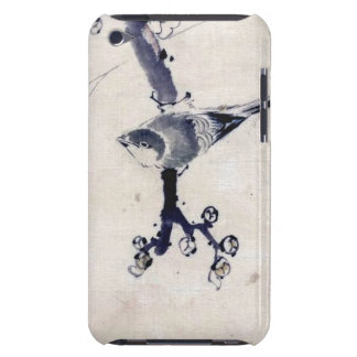 VINTAGE JAPANESE ART BIRD CHERRY BLOSSOM iPod Case-Mate CASES