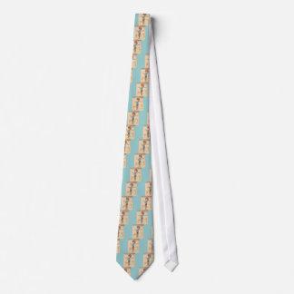 Vintage Japanese Geisha Tie