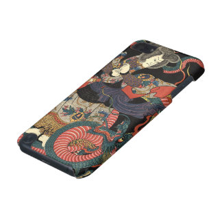 Vintage Japanese Red Dragon iPod Touch (5th Generation) Case