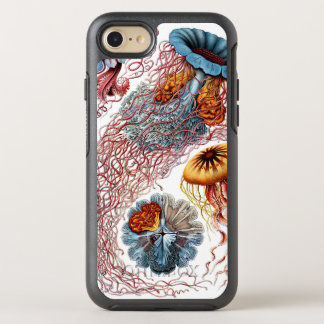 Vintage Jellyfish by Ernst Haeckel, Discomedusae OtterBox Symmetry iPhone 8/7 Case