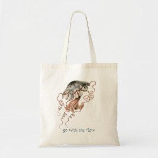 Vintage Jellyfish Tote Bag