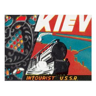 Vintage Kiev Ukraine Postcard