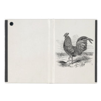 Vintage Kulm Fowl Rooster Chicken - Chickens Hen Cover For iPad Mini
