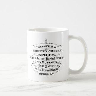 Vintage Label Coffee Mugs