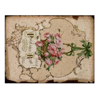 Vintage Label Postcard
