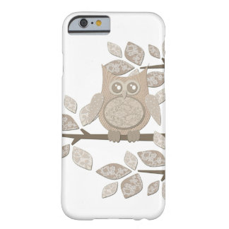 Vintage Lace Owl in Tree Case Barely There iPhone 6 Case