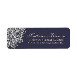 Vintage Lace Return Address Label