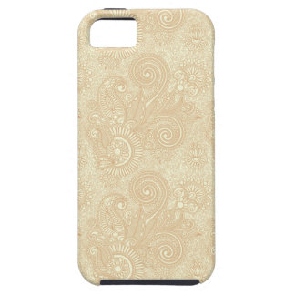 Vintage Lacey Paisley in Cream/Tan/Golds iPhone 5 Cover