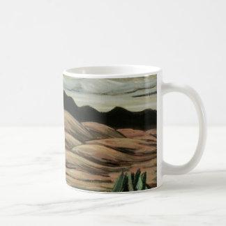 Vintage Landscape, Desert Scene by Marsden Hartley Coffee Mug