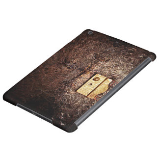 Vintage leather cover for iPad air