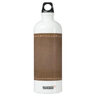 Vintage LEATHER Look Print Finish : Template SIGG Traveller 1.0L Water Bottle