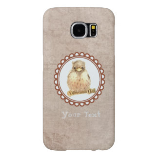 Vintage Little Baby Robin Samsung Galaxy S6 Cases