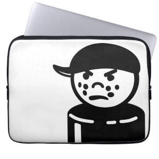 Vintage Little People Tough Kid Bully (Black) Laptop Sleeve