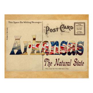 Vintage Look Old Arkansas Postcard