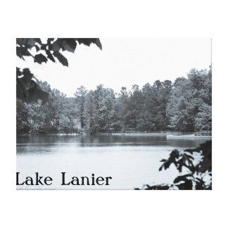 Vintage Look Photo Canvas Lake Lanier, GA Canvas Prints