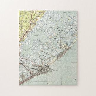 Vintage Map of Atlantic City NJ (1941) Jigsaw Puzzle