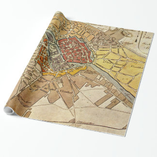 Vintage Map of Berlin Germany (1789) Wrapping Paper